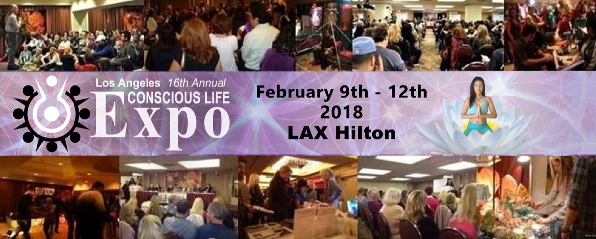 The 16th Annual Conscious Life Expo February 9–12, 2018