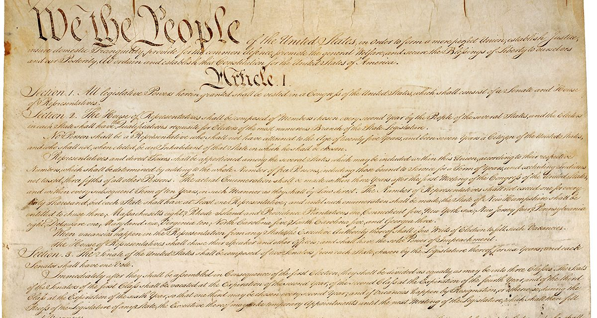 The Constitution and Life in America Today — We The People