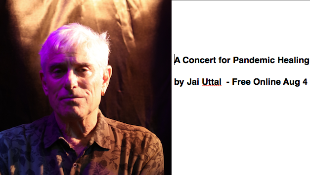 Jai Uttal New Release Online Concert